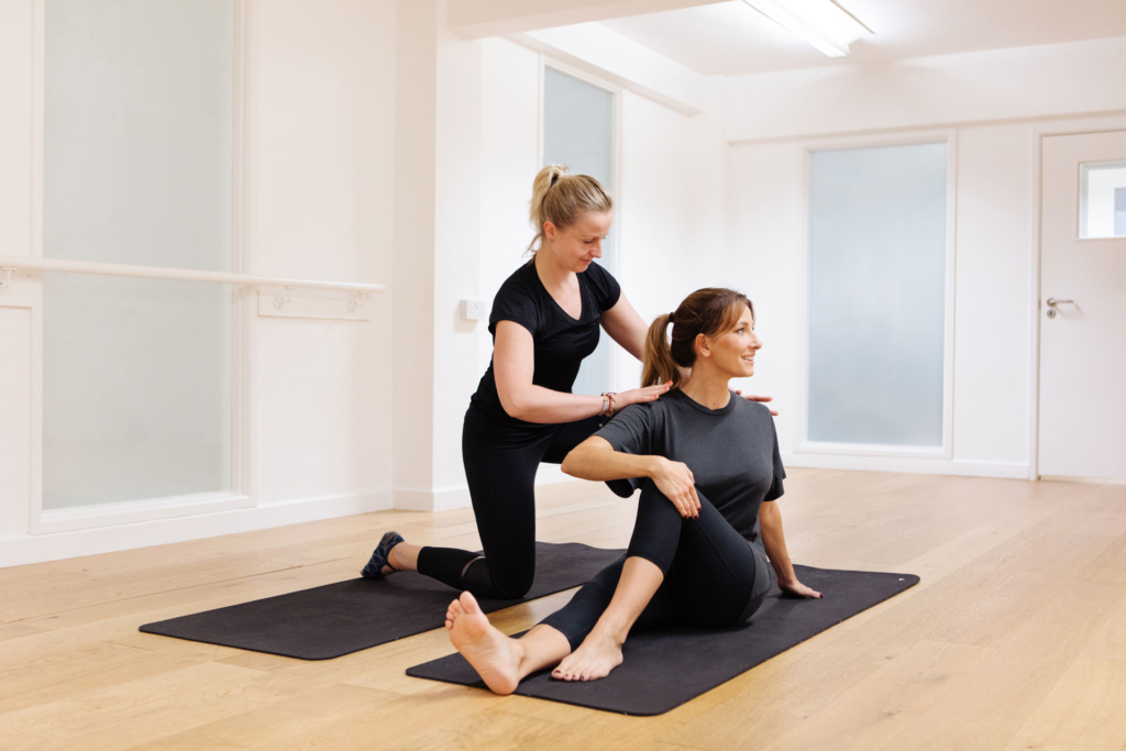 Tops Health Private Yoga Class